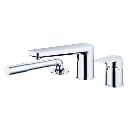 Sottini Turano Single Lever Three Hole Bath Shower Mixer with Spout & Handspray - Unbeatable Bathrooms