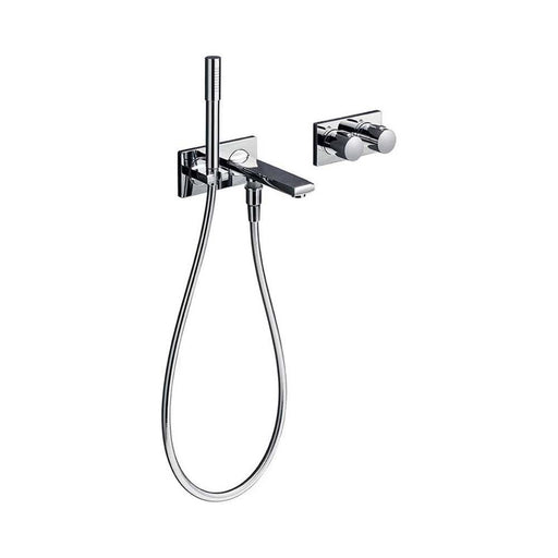 Sottini Velino Thermostatic Bath Shower Mixer with Spout,Diverter & Stick Handspray - Unbeatable Bathrooms