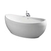 Sottini Vipava 180x84cm Freestanding Bath Tub with Clicker Waste & Slotted Overflow - Unbeatable Bathrooms