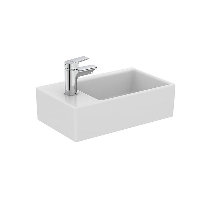 Ideal Standard Strada 45cm handrinse washbasin left hand taphole - Unbeatable Bathrooms