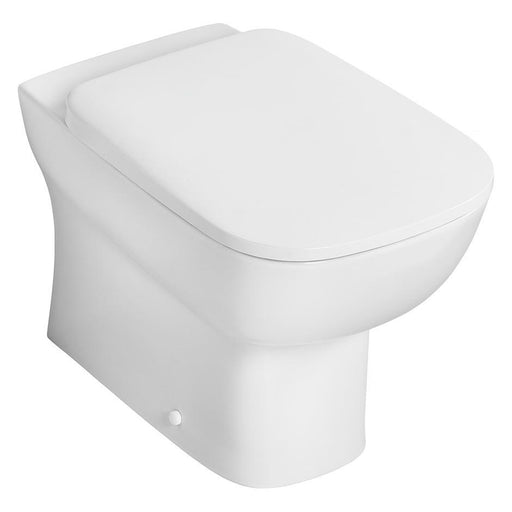 Ideal Standard Studio Echo back to wall wc pan with horizontal outlet - Unbeatable Bathrooms