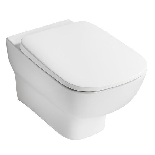 Ideal Standard Studio Echo wall mounted wc pan with horizontal outlet - Unbeatable Bathrooms