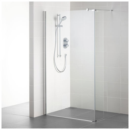 Ideal Standard Synergy 300 Wet Room Return panel - IdealClean Clear Glass - Unbeatable Bathrooms