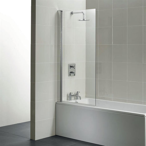 Ideal Standard Synergy 850 Angle Bathscreen - Clear Glass L6210AA