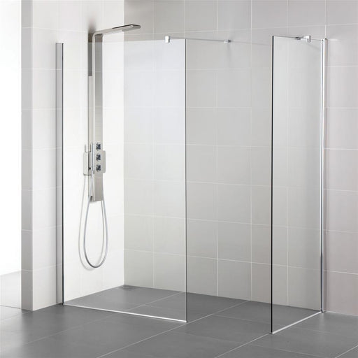 Ideal Standard Synergy Wet Room panel, IdealClean clear glass L6220EO