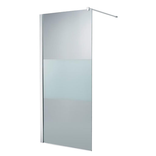 Ideal Standard Synergy Wet Room panel, IdealClean Modesty glass L6180EO