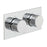 Vado Omika Two Outlet Two Handle Horizontal Tablet Thermostatic Shower Valve - Unbeatable Bathrooms