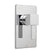 Vado Te Wall Mounted Concealed Manual Shower Valve - Unbeatable Bathrooms