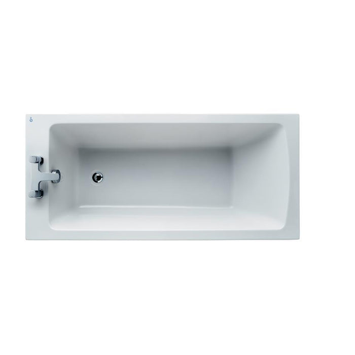 Ideal Standard Tempo 150 x 70cm rectangular idealform bath with no tapholes - Unbeatable Bathrooms