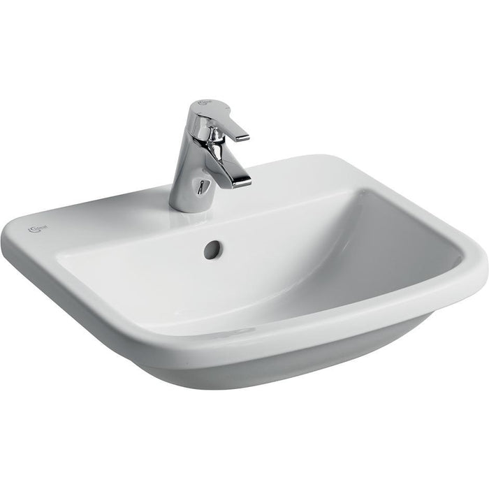 Ideal Standard Tempo 50cm Countertop basin - one taphole - Unbeatable Bathrooms