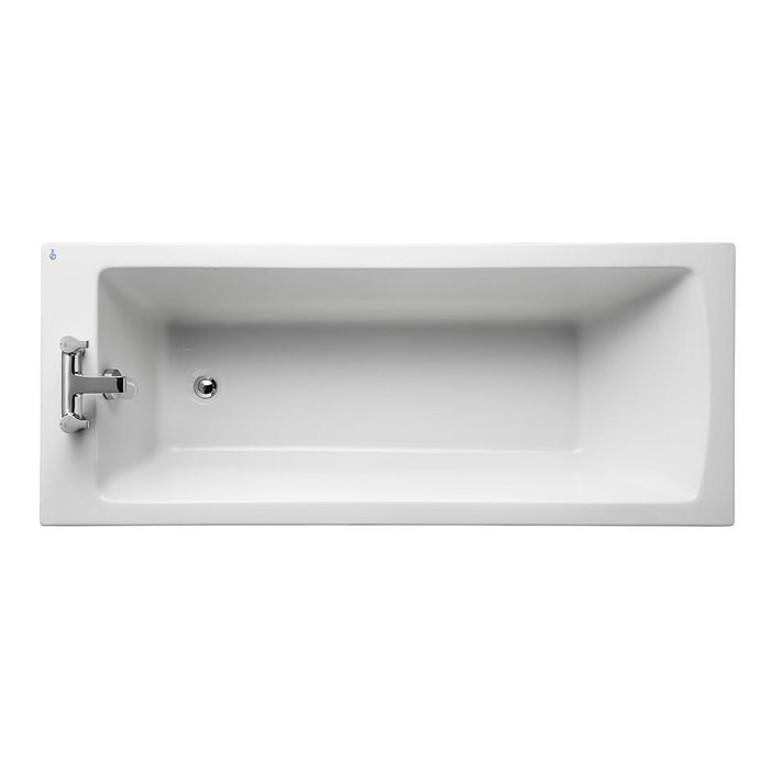 Ideal Standard Tempo Arc 170 x 70cm Idealform bath no handgrips - Unbeatable Bathrooms