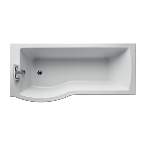 Ideal Standard Tempo Arc 170 x 80cm Idealform shower bath - Unbeatable Bathrooms