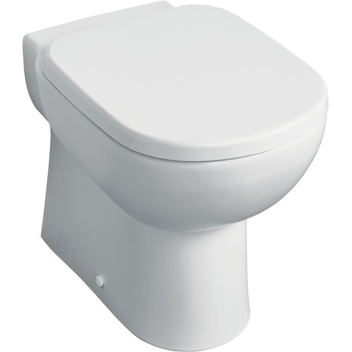 Ideal Standard Tempo back to wall WC pan with horizontal outlet - Unbeatable Bathrooms