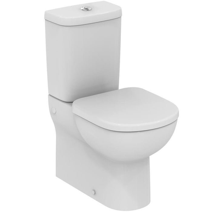Ideal Standard Tempo Close Coupled Back-to-Wall WC Suite - Unbeatable Bathrooms