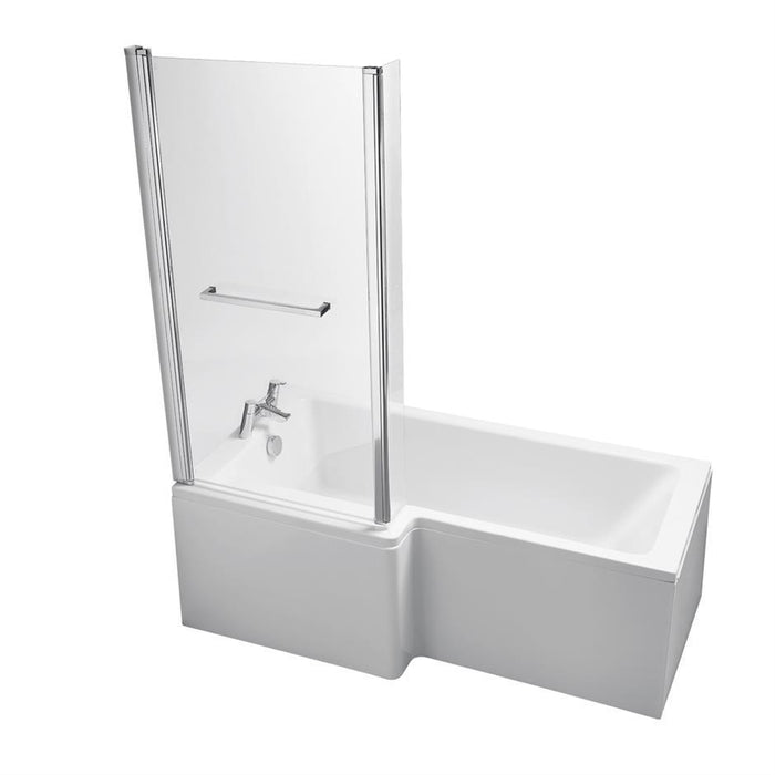 Ideal Standard Tempo Cube 170 x 70cm Idealform water saving bath no handgrips or tapholes - Unbeatable Bathrooms