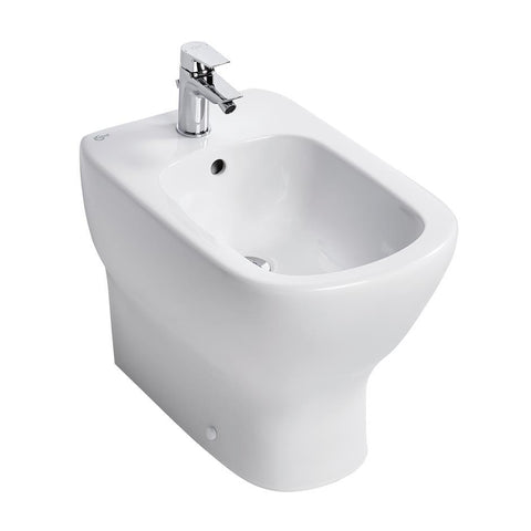 Ideal Standard Tesi Back-to wall bidet - one taphole - Unbeatable Bathrooms