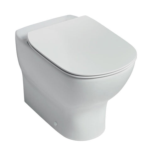 Ideal Standard Tesi back to wall wc pan with horizontal outlet - Unbeatable Bathrooms