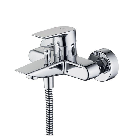 Ideal Standard Tesi single lever exposed wall mounted bath shower mixer - Unbeatable Bathrooms
