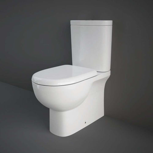 Rak Ceramics Tonique Close Coupled Fully Back to Wall WC Unit - Unbeatable Bathrooms