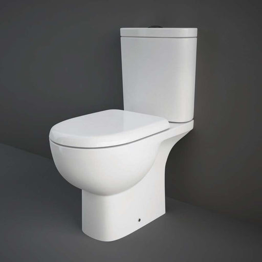 Rak Ceramics Tonique Close Coupled Full Access Open Back WC Unit - Unbeatable Bathrooms