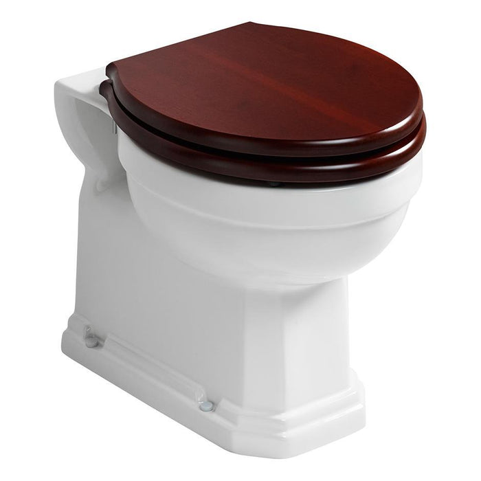 Ideal Standard Waverley back to wall wc pan with horizontal outlet - Unbeatable Bathrooms
