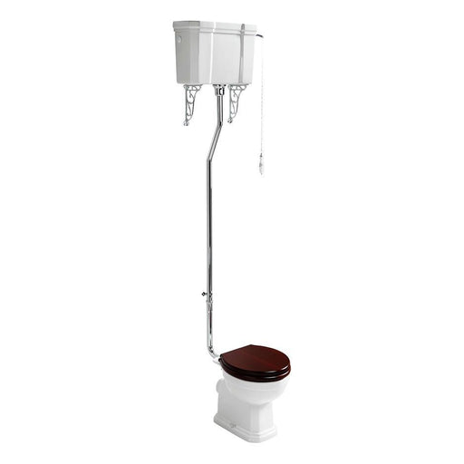 Ideal Standard Waverley high level / low level wc pan with horizontal outlet - Unbeatable Bathrooms