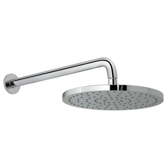 Vado Saturn 254mm Round Shower Head with Shower Arm - Unbeatable Bathrooms