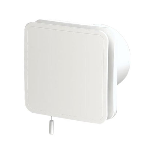 Zehnder White Humidistat and Timer Fan - Unbeatable Bathrooms