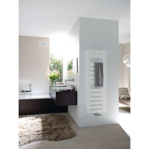 Zehnder Metropolitan Spa Dual Energy Radiator with Safir Programmable Infrared Control - Unbeatable Bathrooms