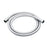 Vado Zoo 150cm Smoothflex Anti-Twist Silver Shower Hose - Unbeatable Bathrooms