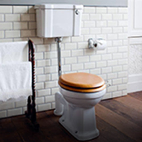 Shop Traditional Toilets from UnbeatableBathrooms.co.uk.