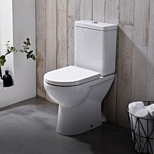 Shop Close Coupled Toilets from UnbeatableBathrooms.co.uk.
