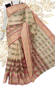Beautiful tant saree