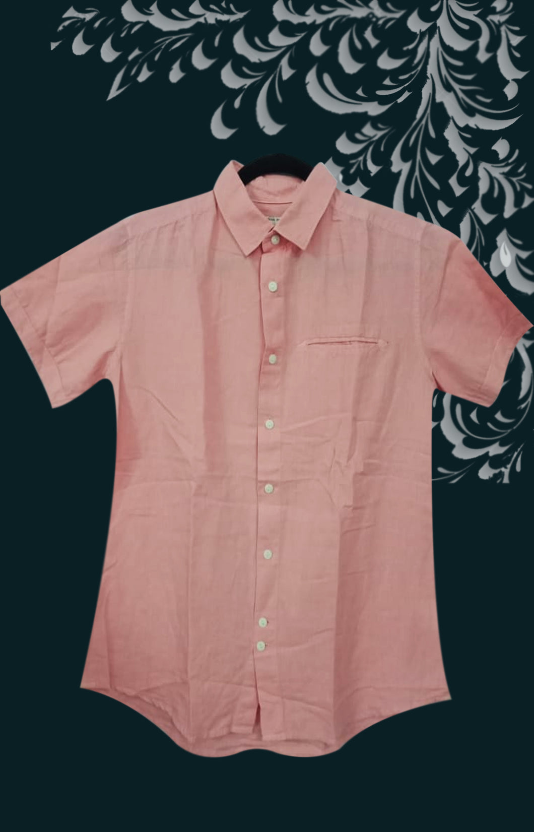 LIGHT PINK COLOR MEN SHIRT