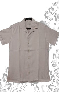 WHITE AND GREY COLOR MEN SHIRT