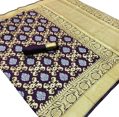 Black Base Kalawati Silk