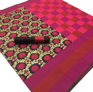 Multi color base Kalawati Silk