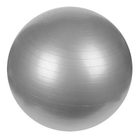 GYM BALL 75 CM ΓΚΡΙ