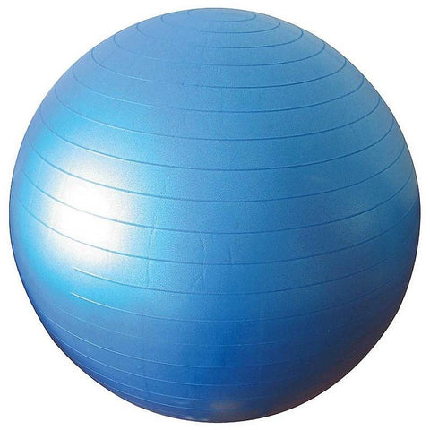 GYM BALL 65 CM ΜΠΛΕ