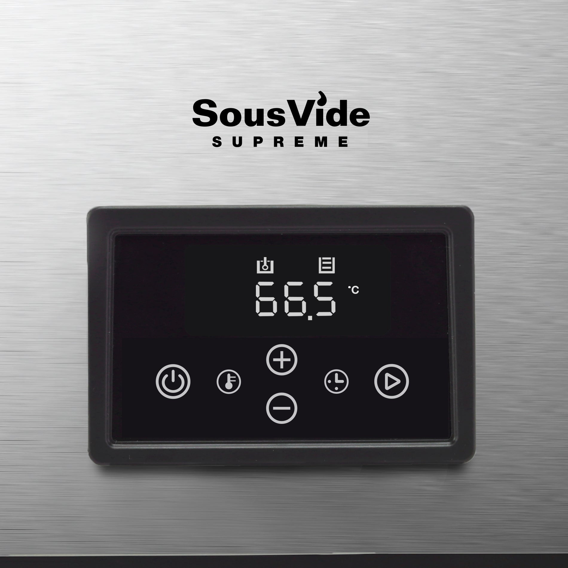 SousVide Supreme Touch 11L Stainless Steel Touch Panel