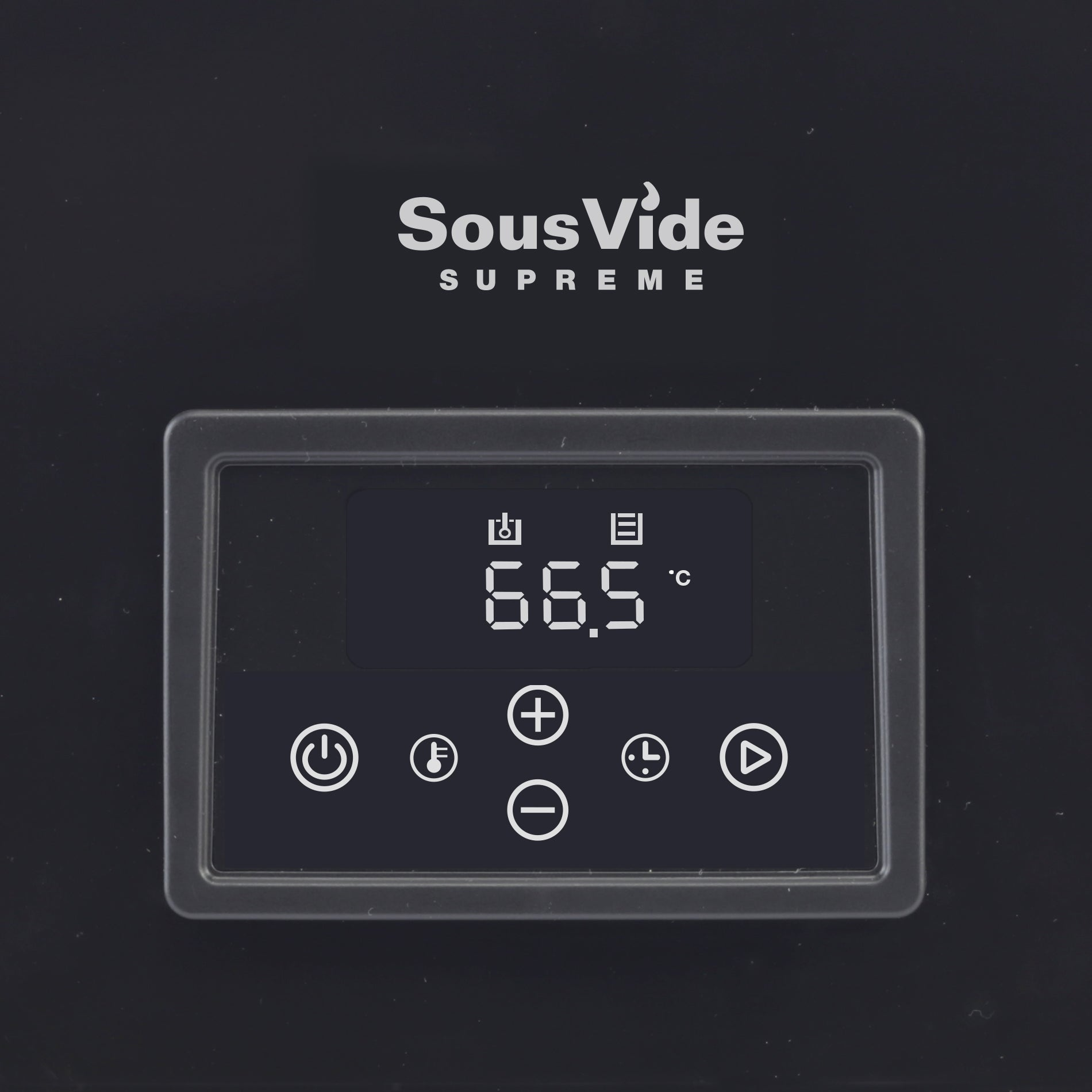 SousVide Supreme Demi Touch panel