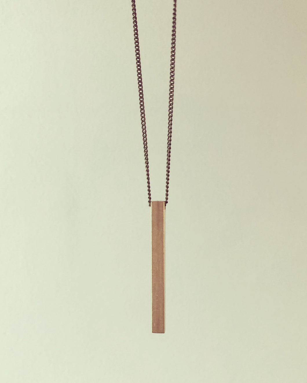 The Beatrice Necklace -V (long)