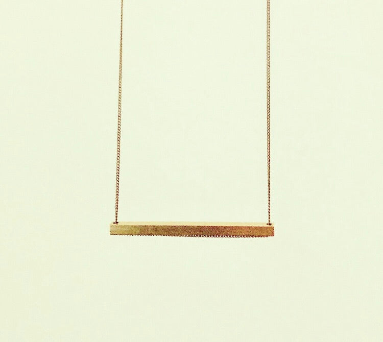 The Slik Necklace- H (short)