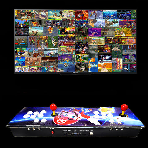 2200 Retro Arcade Machine Console 3D Games