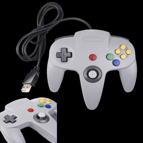 Image of Classic N64 USB Controllers for Retropie Raspberry Pi