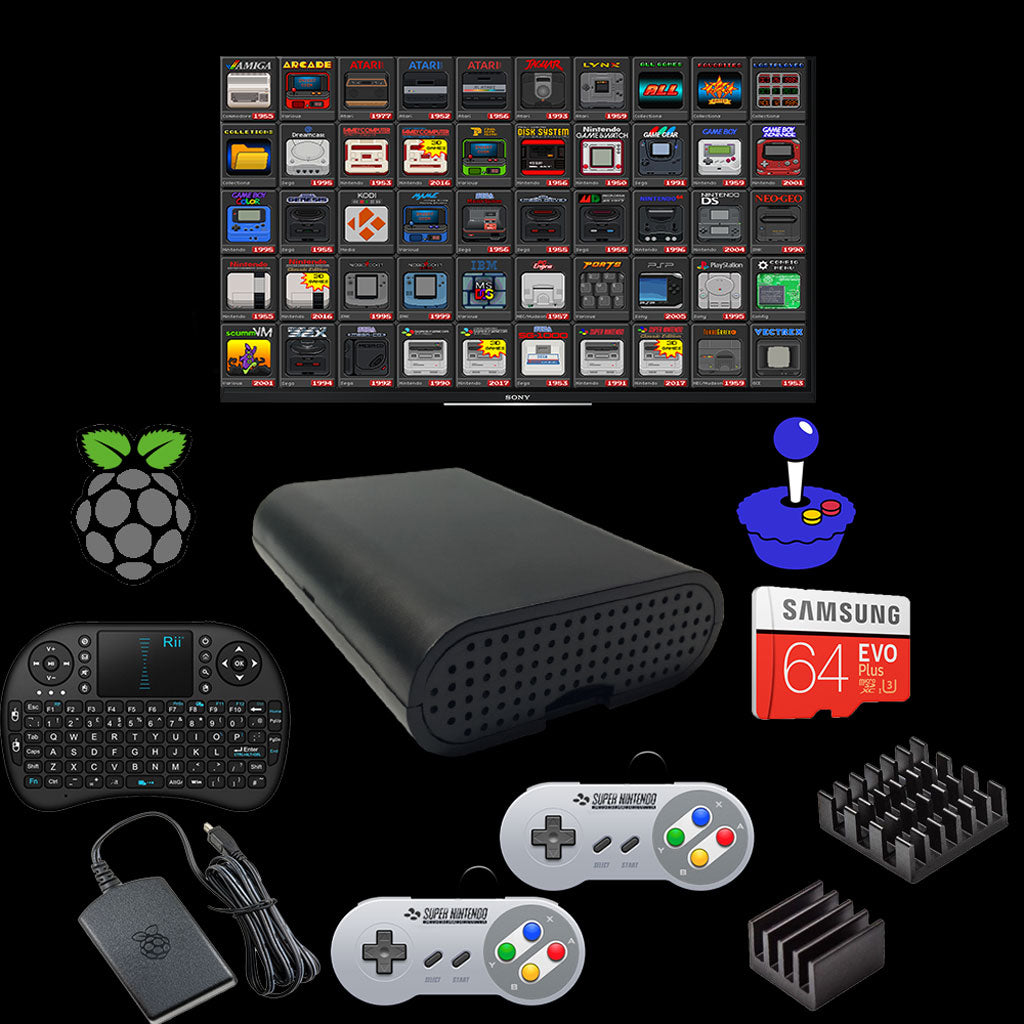 RetroPie Emulation Console Video Game System 120k