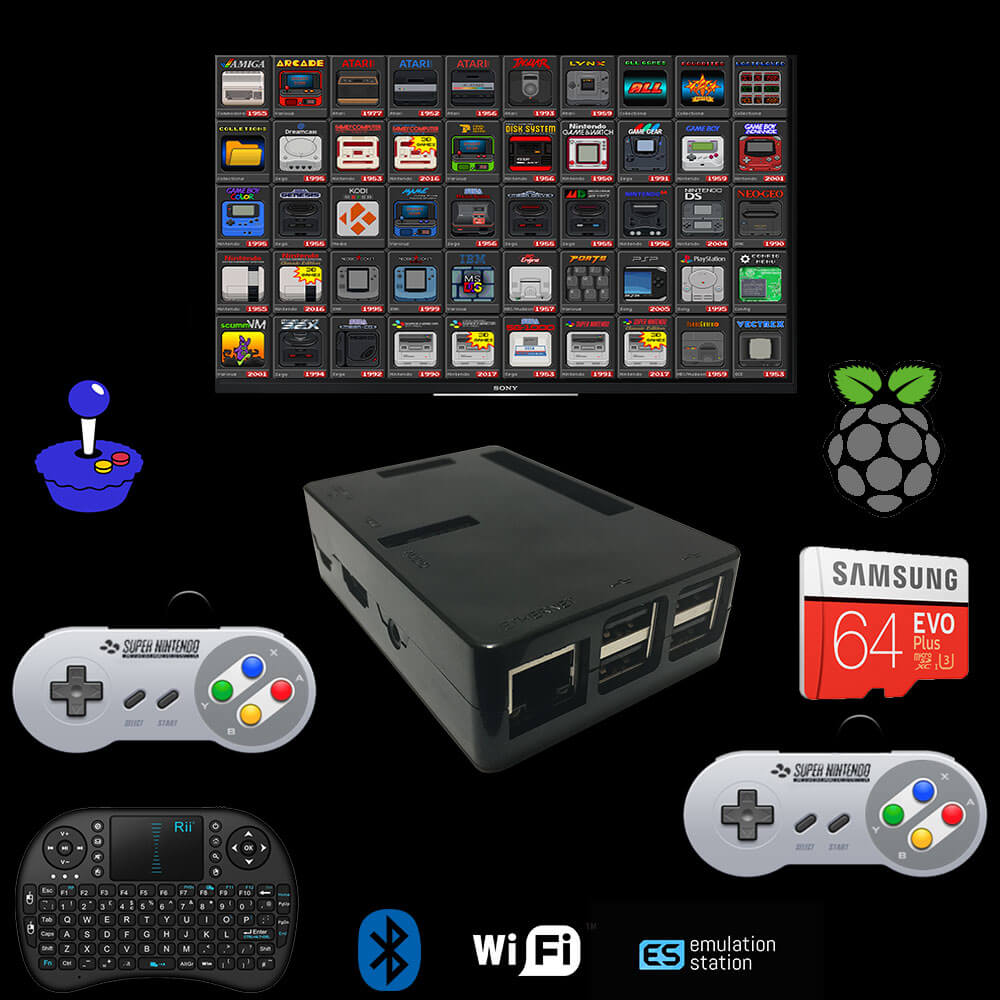 All In One Emulator Console 120k Plug & Play