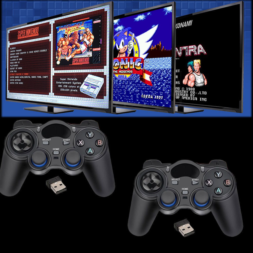 2.4GHz Wireless PS3 RetroPie Gamepad Android Smart TV PC