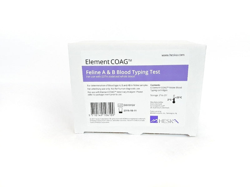 Blood Typing Cartridge