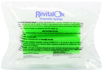 REVITAL-OX™ Enzymatic Sponges
